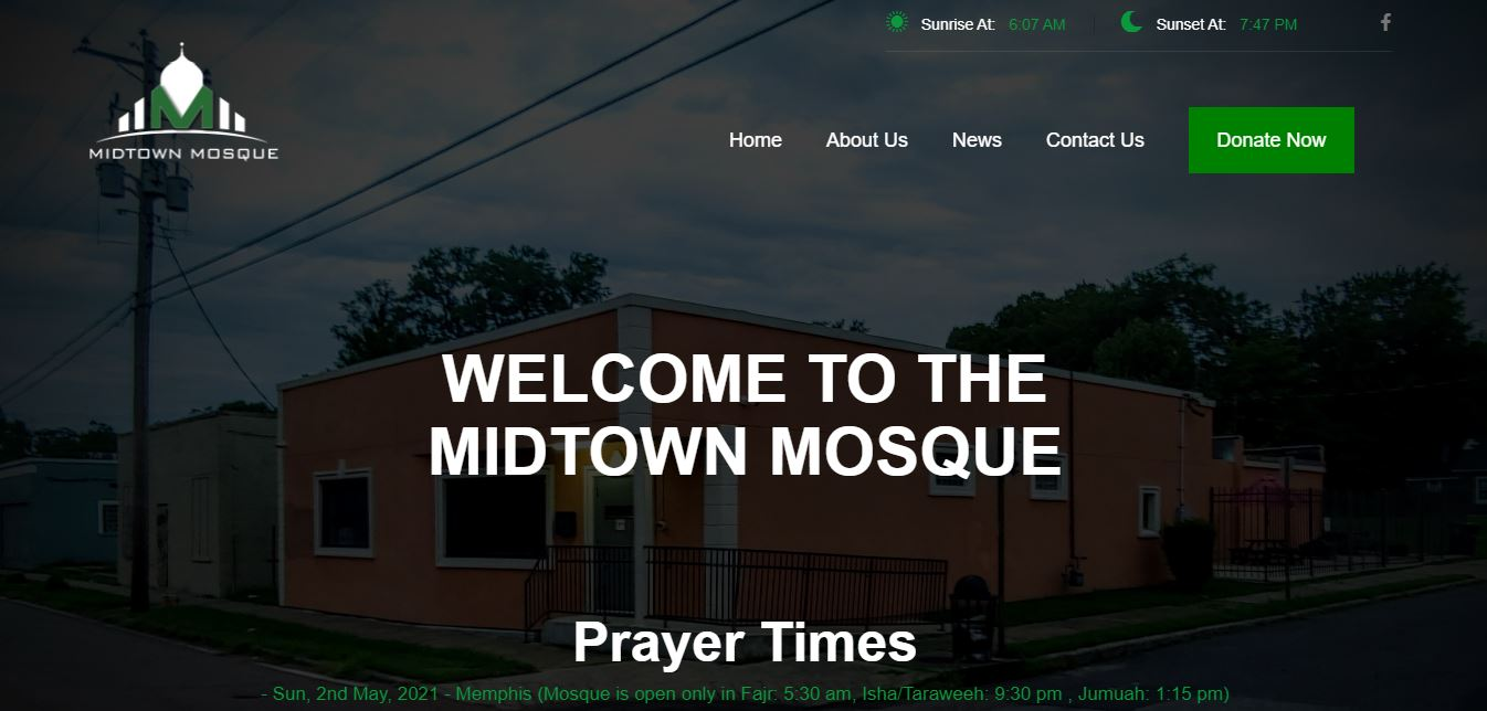 Mid town mosque